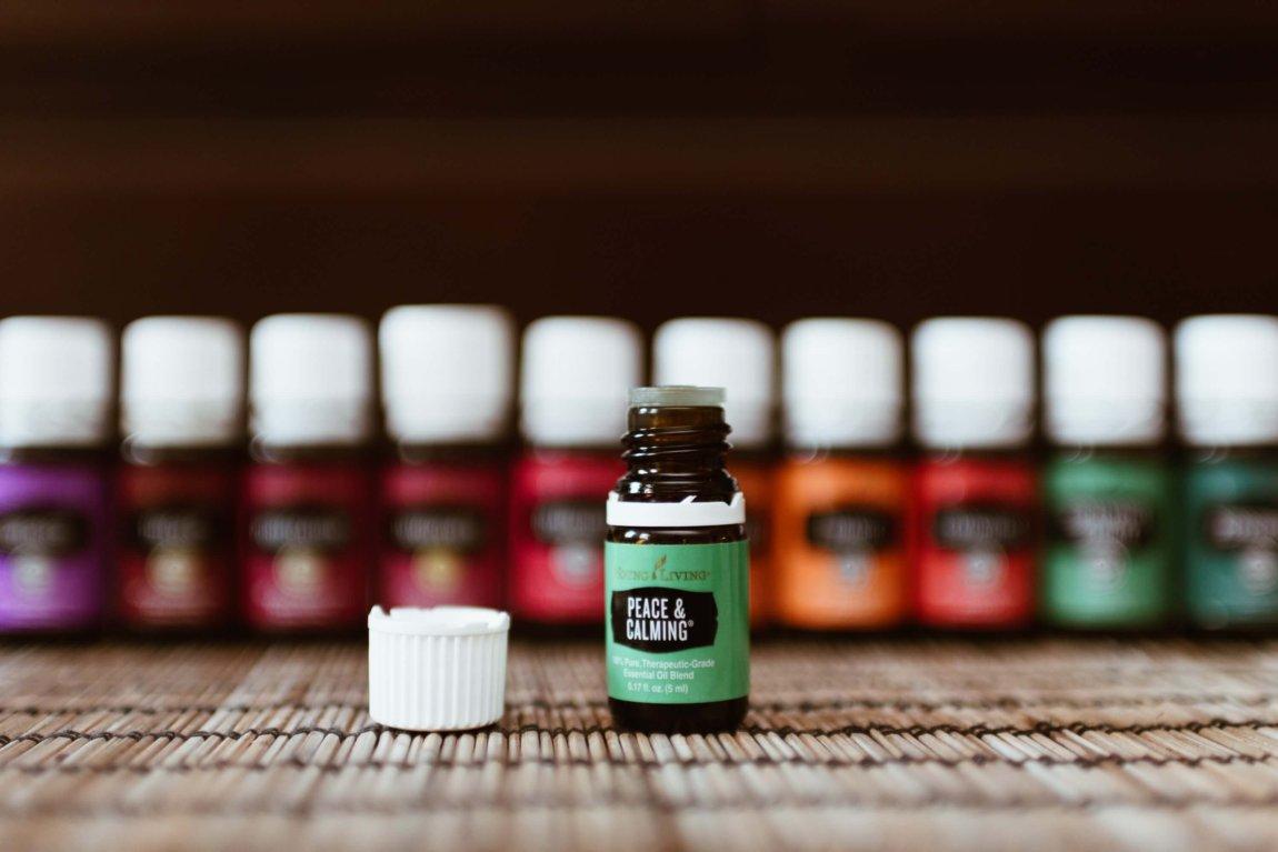 An assortment of essential oils