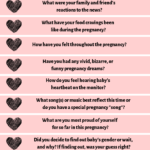 Free Printable Pregnancy Journal Prompts and Tutorial!